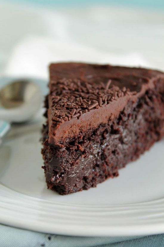 Νηστίσιμο σοκολατένιο κέικ