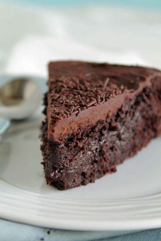 The ultimate vegan chocolate cake
