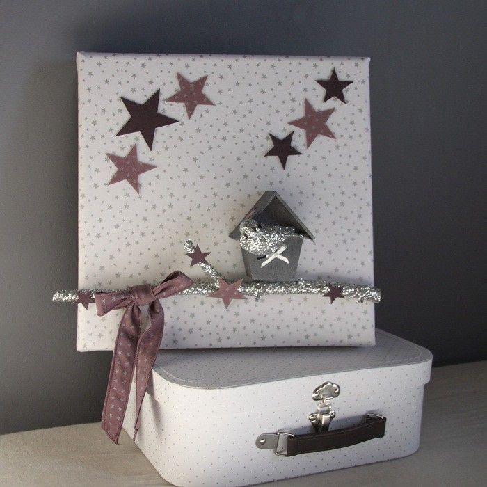tableau cabane oiseau argent gris id es d co pinterest produits et technologie. Black Bedroom Furniture Sets. Home Design Ideas