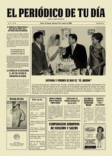 Regalo original regalo aniversario regalo bodas de oro for Regalos de aniversario de bodas para amigos