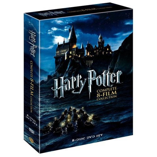 Harry Potter The Complete 8 Film Collection DVD Boxset New and Sealed £24.99