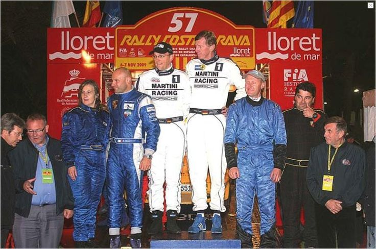 Walter Röhrl won the Costa Brava Rally for the FIA European Rally Championship for Historical Cars  Nov.6, 2009