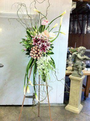 Unique Funeral Flowers | Unique funeral spray | Yelp
