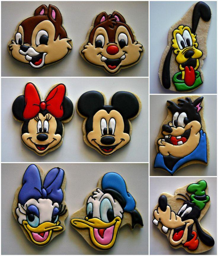 Disney Cookies // Galletas de Disney