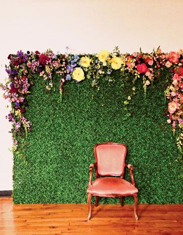 Get Fresh with an eye catching photo backdrop