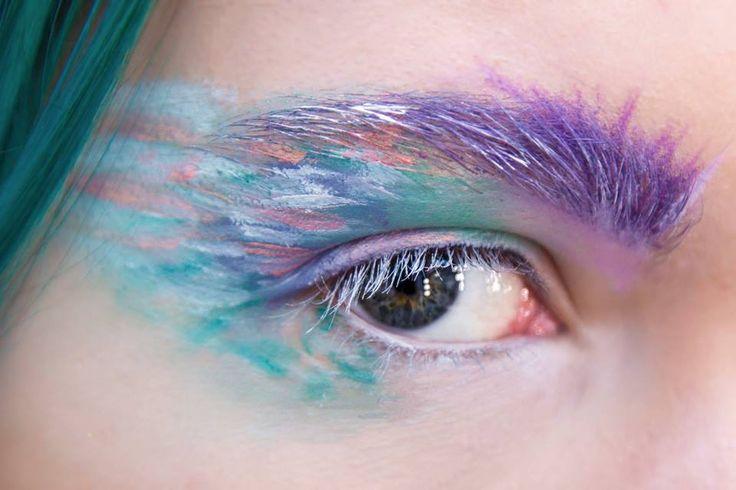 Szkoła Wizażu i Charakteryzacji SWiCh Make-up: Kinga Buśko /  Modelka: Paulina Parol /  Fot.: Anita Kot
