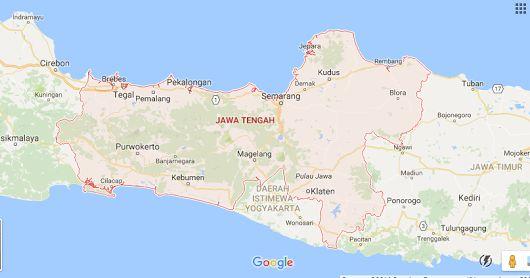 Kode Pos Provinsi Jawa Tengah