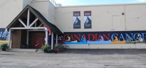 Entrance to The Canadian Canoe Museum in Peterborough, Ontario, Canada www.canoemuseum.ca
