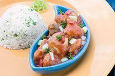 Mollejas de pollo en salsa criolla | Sabores en Linea