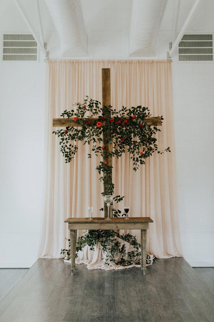 Learn More About Plan A Wedding Shower Just Click On The Link For More Info Planaweddingceremon Wedding Chapel Decorations Rustic Church Wedding Wedding Arch