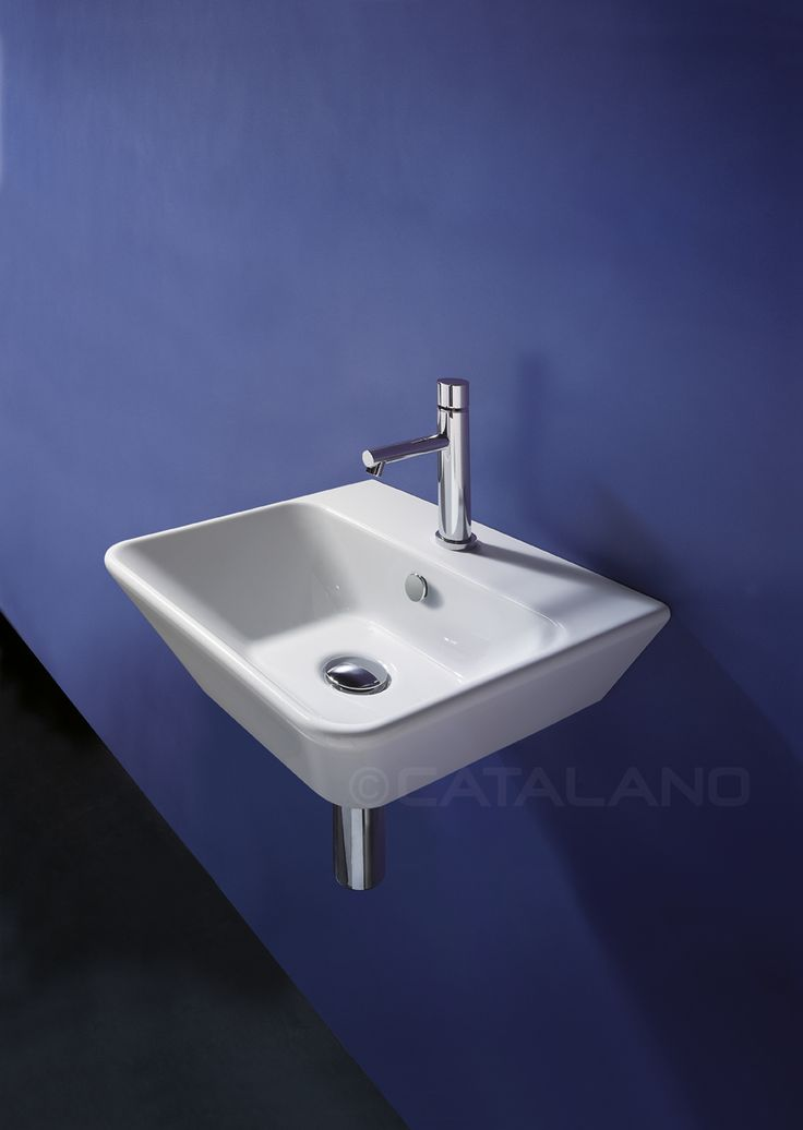 Washbasin 0, 1 or 3 tapholes. For wall-hung or sit on installation.