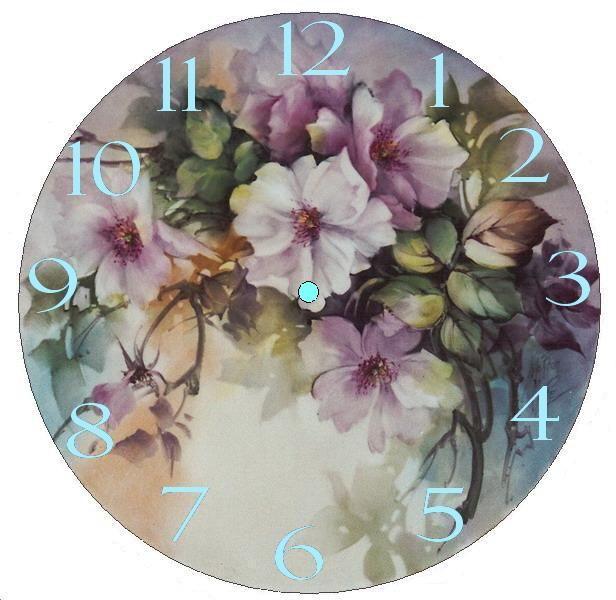 DesertRose,;,Face clock,;,