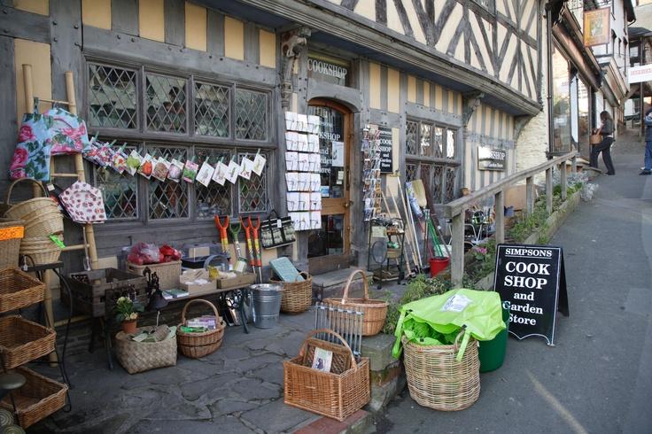 The cookshop on Bishops Castle High Street