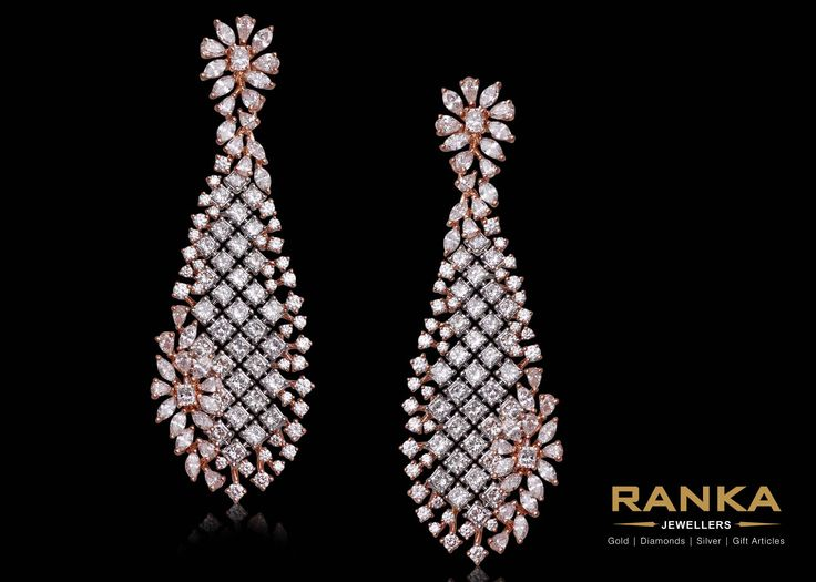 Amazing danglers to suit your gown!