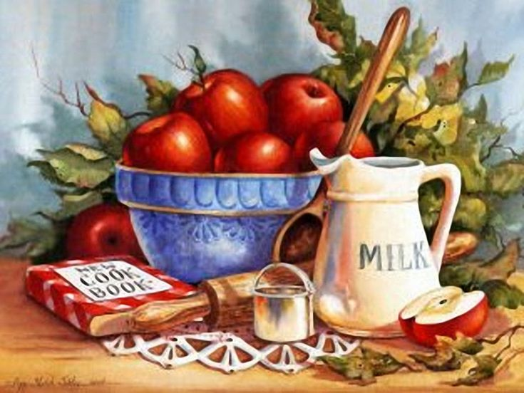 441-20089~Cookbook-and-Apples-Posters.jpg (1275×957)