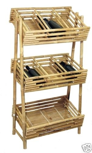Bamboo Wine or Beverage Shelves Shelf Display Rack   Great for tropical, asian, surf, zen, tiki, or beach theme decor, stores or homes.    (805) 479-Tiki (8454) M-F 9am-5pm PST or eBay user ID: TIKITOESCA or email address:  TikiToesCa@aol.com Thanks! Michele Craft.  Click on the picture to take you to order page.  Call in your order with a major credit card and mention you saw it on Pinterest and get a free gift!