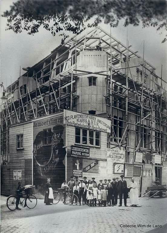 Lindershuis in aanbouw 1919