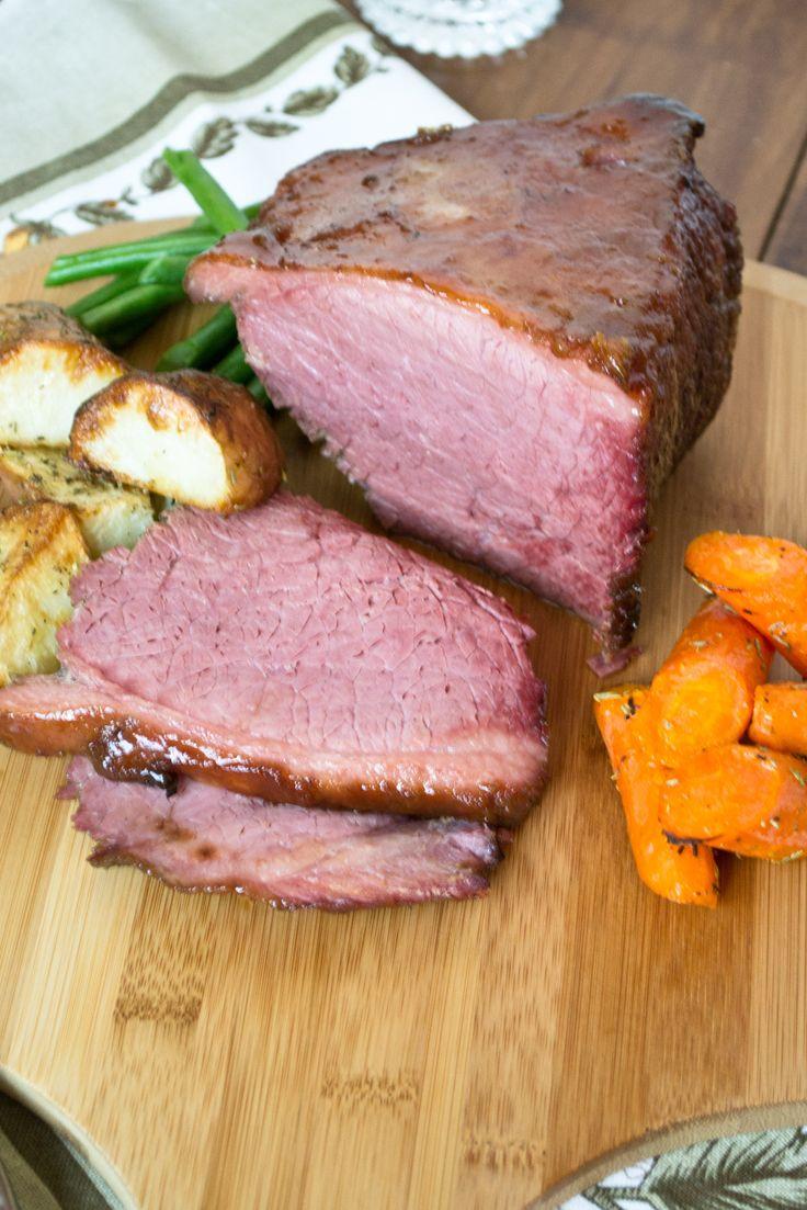 Baked Glazed Corned Beef