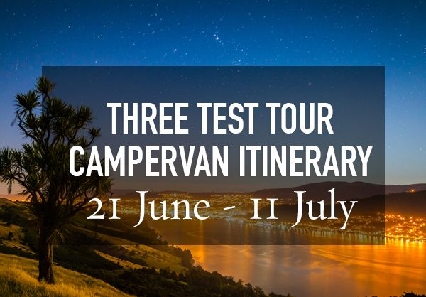 Campervan Adventures - Motorhome Hire for the 2017 Lions Tour