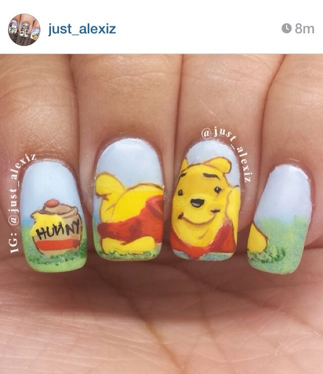 Tigger Nails: 249 Best Winnie The Pooh Images On Pinterest