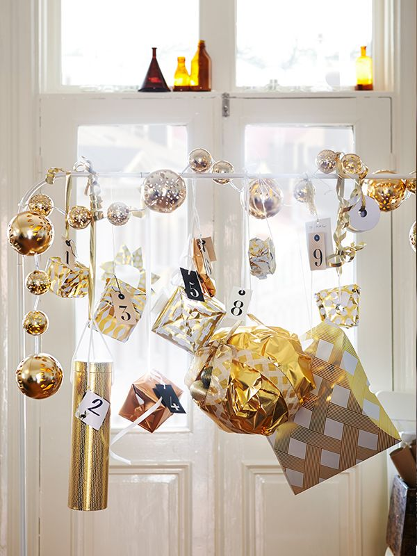 Merveilleux During Swedish Christmas Time Families Traditionally Wrap Small Presents To  Be Opened One By One From The First Of December Until ...