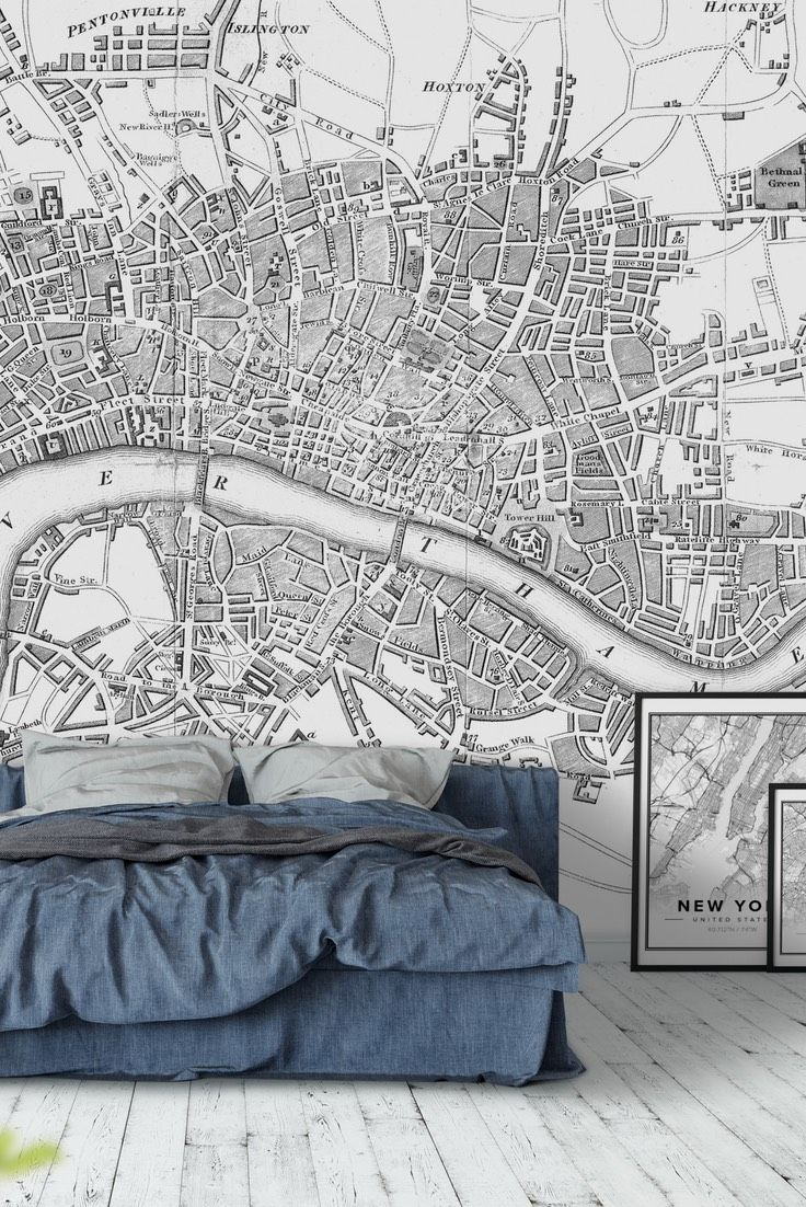 33 best map wall murals images on pinterest murals wall murals london map wall mural wallpaper gumiabroncs Gallery