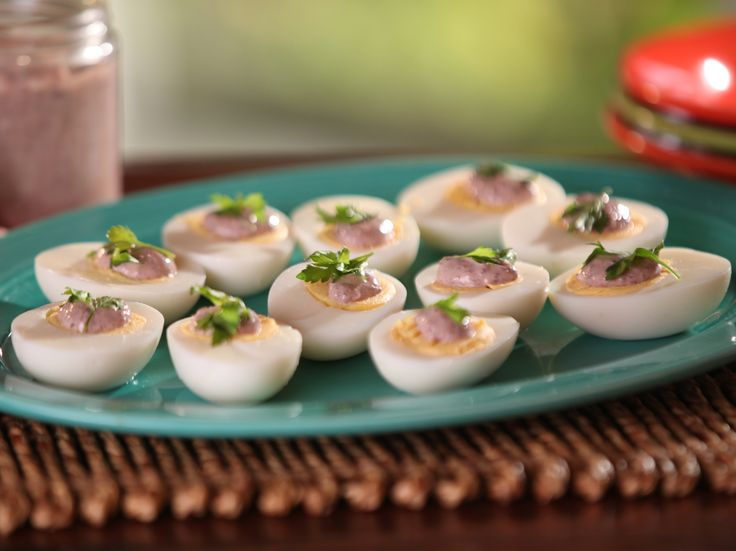 Mayonnaise and Hard Boiled Eggs recipe from Bobby Flay via Food Network