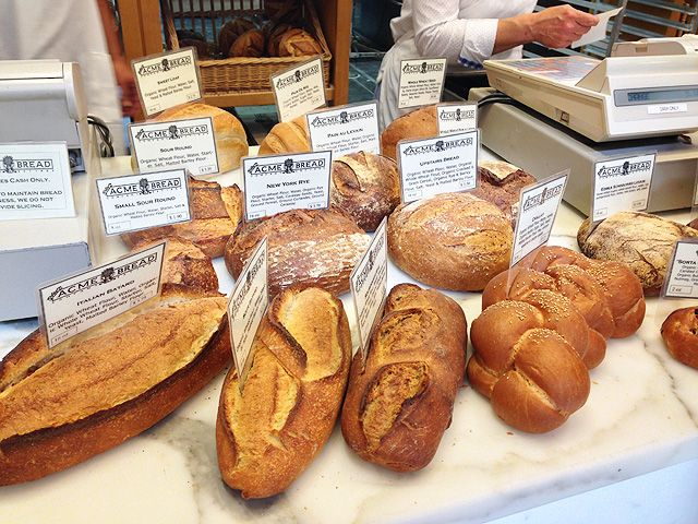 オーガニックベーカリー Acme Bread