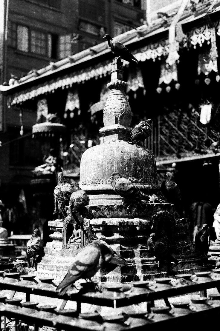 Janabaha, Kathmandu - Nepal .. Shot with Asahi Pentax 1976 on ILFORD PAN 100