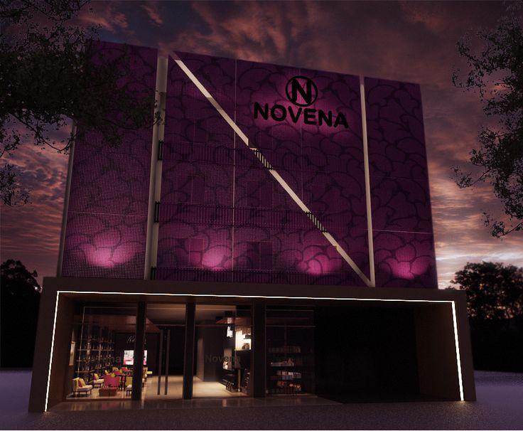 Facade of Novena Hotel