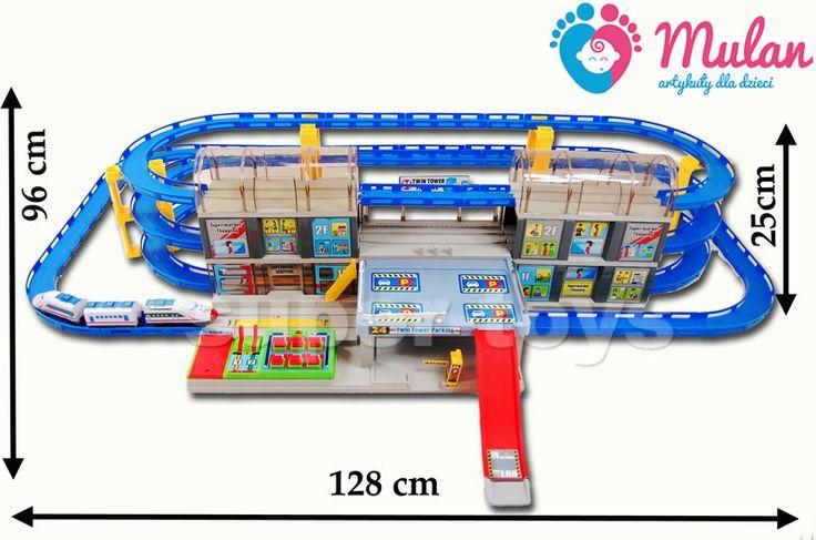 """5513-100# Najnowsza piętrowa kolejka z dwoma peronami oraz dźwiękami """"ORBITAL CAR"""" Kolejka posiada 3 poziomy po których porusza się pociąg z dźwiękami. Dodatkową atrakcją są dwa perony oraz sterownia z dźwiękami. Najnowsza 3 ..."""