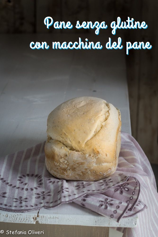 Pane senza glutine con la macchina del pane Panasonic #pane #bread #glutenfree