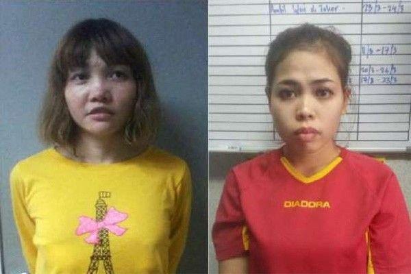 Hari ini, dua perempuan pembunuh Kim Jong Nam dituntut