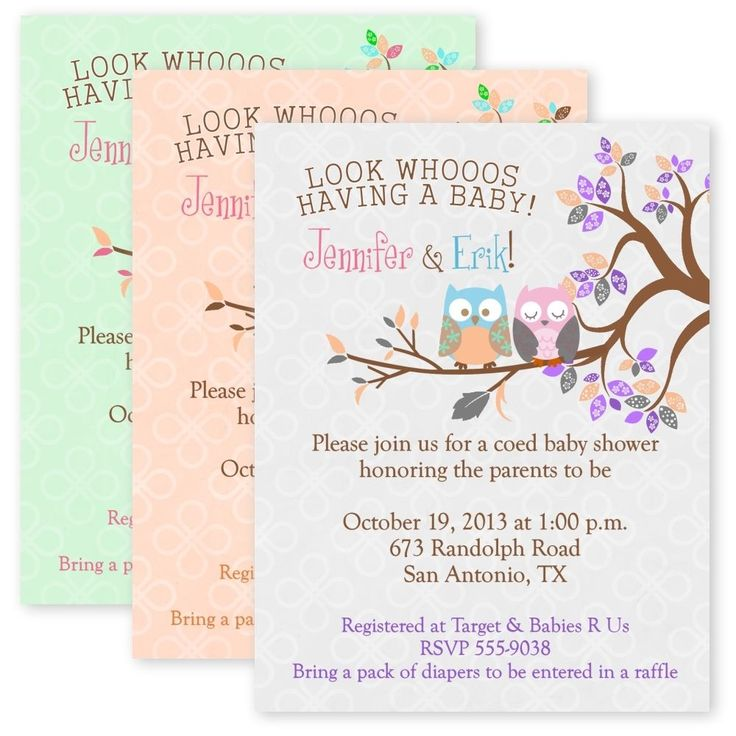 Vintage Owl Baby Shower Invitations: 17 Best Ideas About Owl Birthday Invitations On Pinterest
