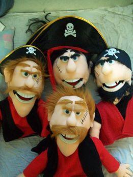 Pirates Puppets