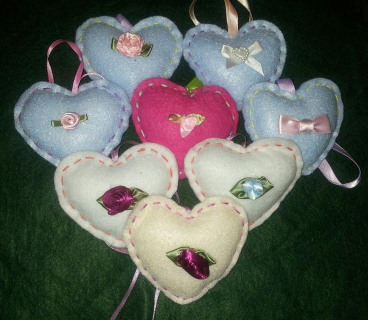 some hearts I made.