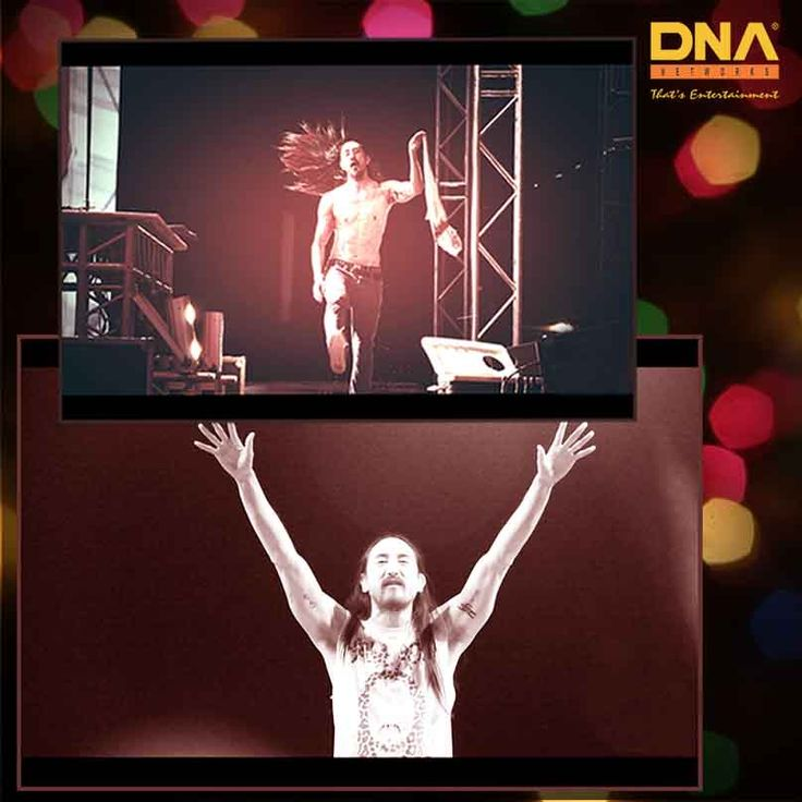 The crowd went wild at #SoundAwakes edition of Steve Aoki which we are proud to be associated with!