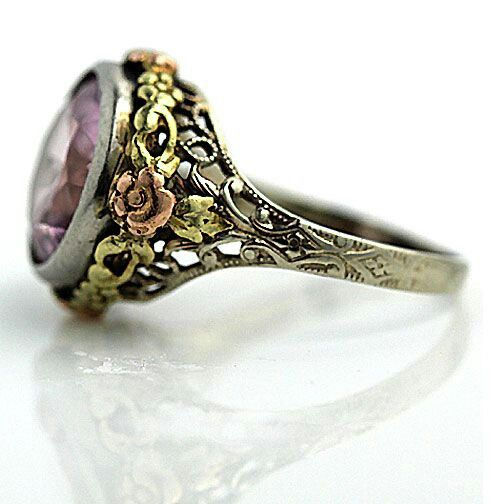 I would choose a different stone but the side detail is gorgeous.