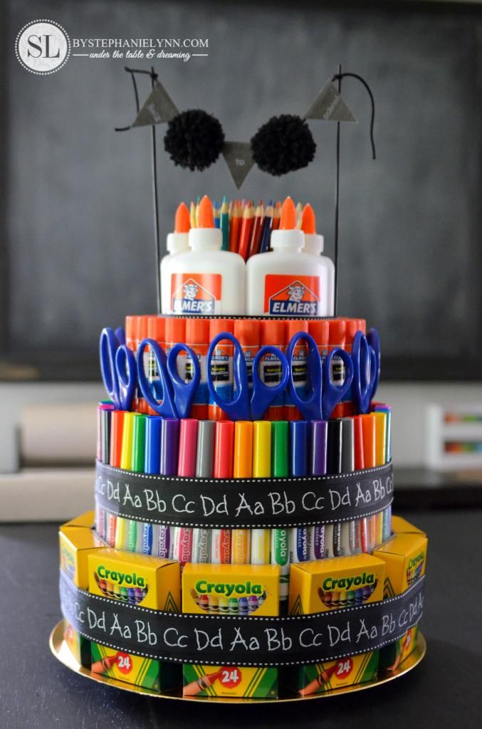 Classroom Decoration On Teachers Day ~ Best ideas about teacher supply cake on pinterest