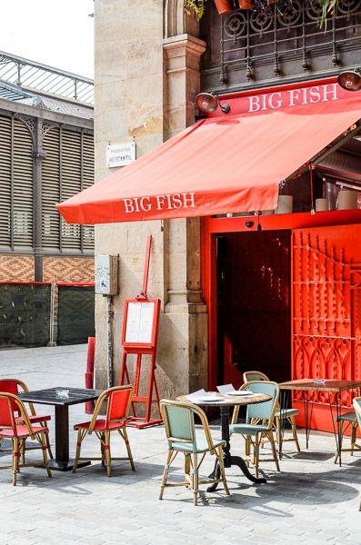 Big Fish | Barcelona toldo = color que entrada :)