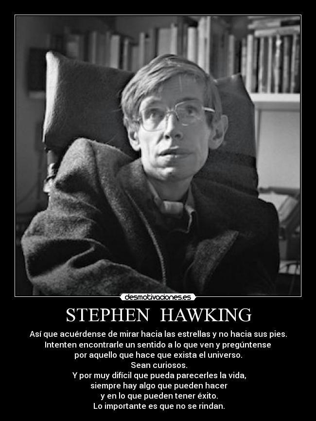 STEPHEN HAWKING | Frases | Pinterest | Stephen hawking