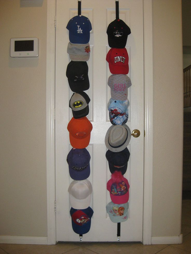 best 25 baseball cap rack ideas on