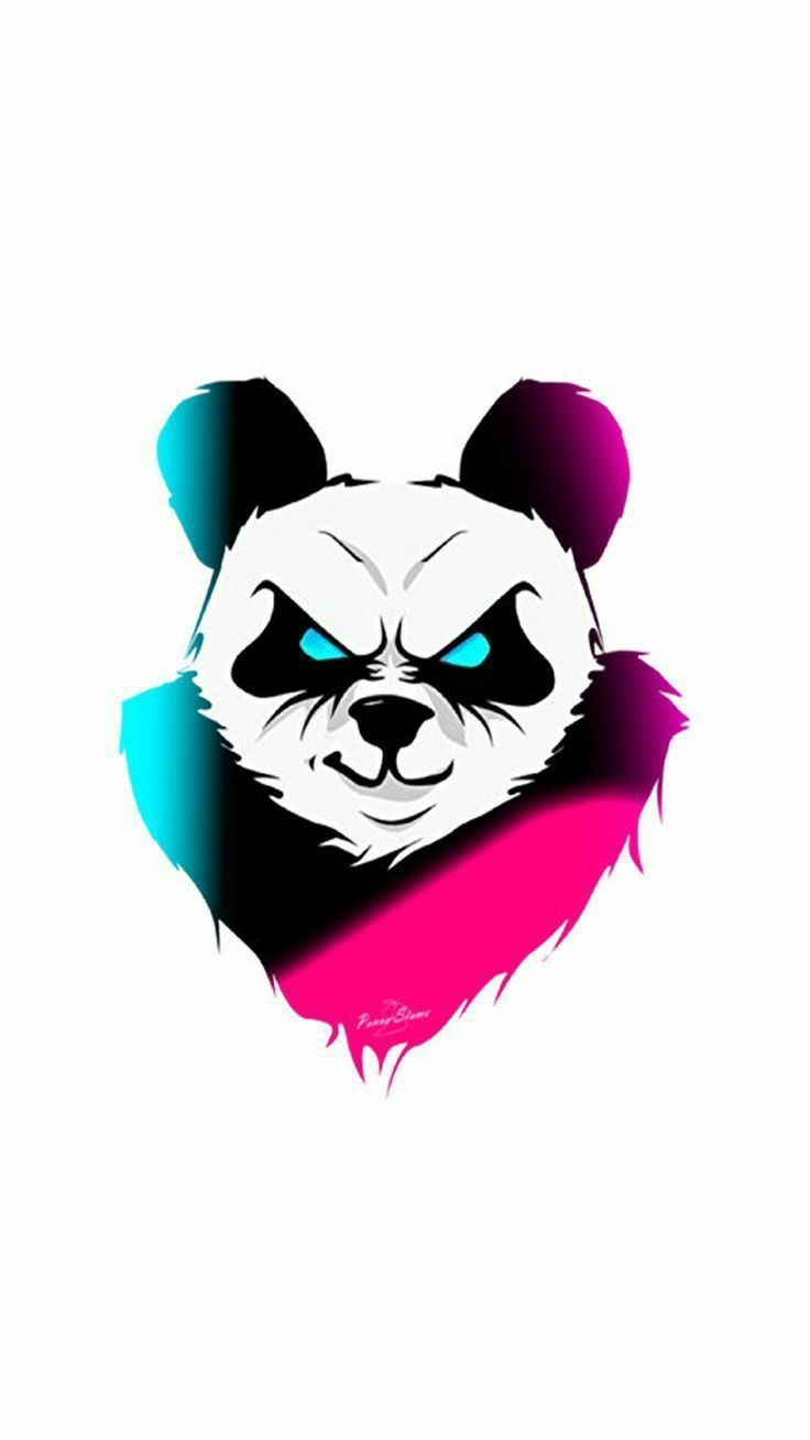Pin On Iphone 11 Wallpaper Panda Art Art Logo Logo Design Art