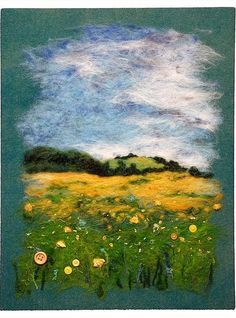 Needle Felting Landscapes Tutorial Google Search