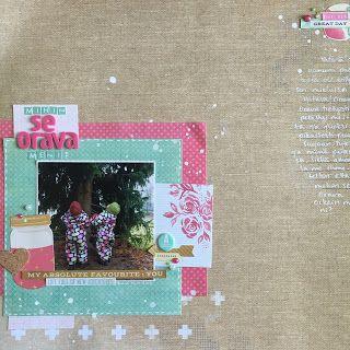 scrapbook layout: Ninarsku.