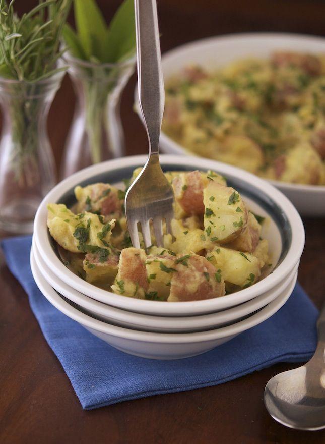 Light and Tangy Potato Salad