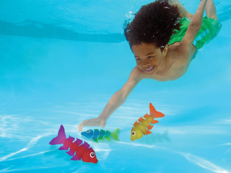 Best 20 pool games kids ideas on pinterest pool games for Fake fish that swim