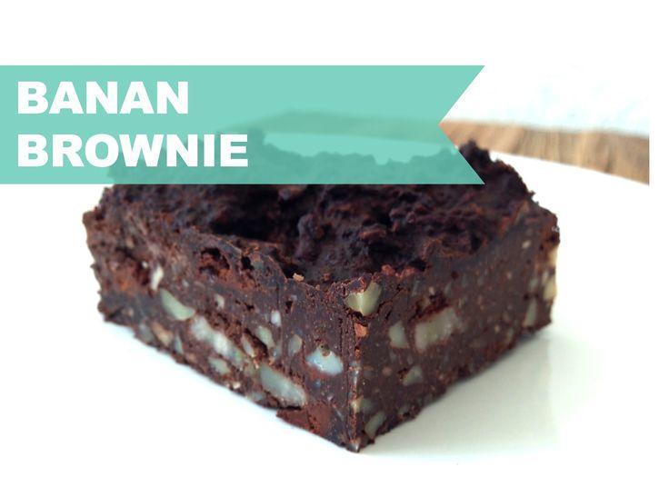 Banana Brownie ♡  KarolinaKaersner.com