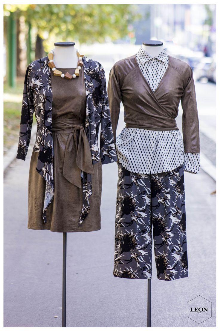 da Leon Milano è arrivata tutta la collezione #autunno #inverno 2016/17 questa #collezione è contraddistinta da #tessuti particolari e stampe #eccentriche, mixando vestibilità morbide a modelli che sanno esaltare le forme ... qui una piccola anteprima con un #abito ed un incrociato in maglia spalmata effetto #pellecorso 22 Marzo Angolo Viale Mugello tel 02-733193 photo and outfit by Alby #woman #sartoria #moda #fashion #pants #model #maglia #shop #visual