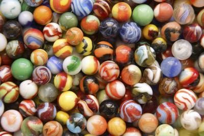 Depending on the age of your marbles, they may be highly collectible.